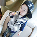 2017 Newborn Baby Boy Coat Baseball Clothing for infant boys Striped Outerwear Sport Casual Jackets Cloth Kid Children  Coat