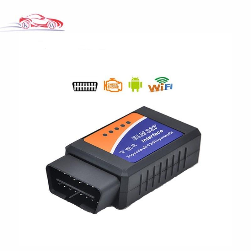 WIFI OBD2 ELM327 Sans Fil Auto Scanner Adaptateur Pour iPhone iPad iPod ELM327 OBD 2 Auto Outil D'analyse