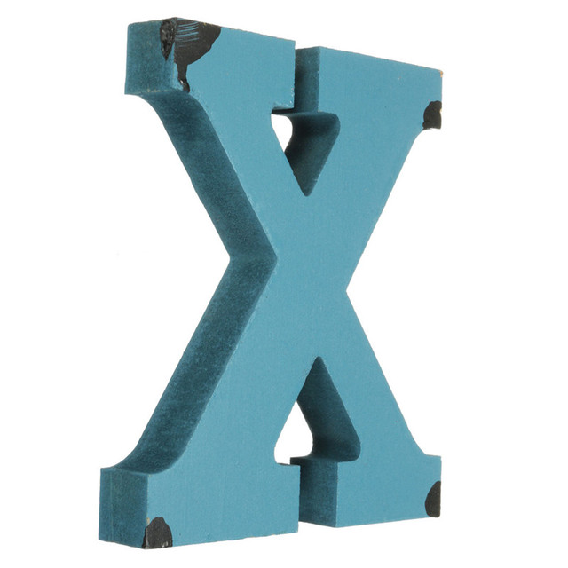 2017 New Arrival Craft Alphabet Letter Plaque Sign Wood Letters Name Home Wedding Decor DIY 180x25mm Electronic Signs