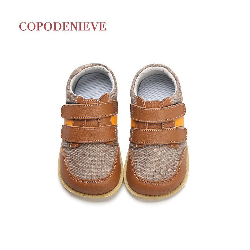 COPODENIEVE  Boys Shoes Spring Autumn Pu Leather Toddler Kids Loafers Moccasins Solid Anti-slip Children's Shoes for Boys(China)