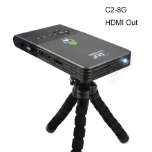 OTHA M6/C2 100ANSI Mini LED Projector Android 4.4 WiFi Bluetooth Smart DLP 1080P Home Beamer Support AirPlay Miracast 8/16/32G