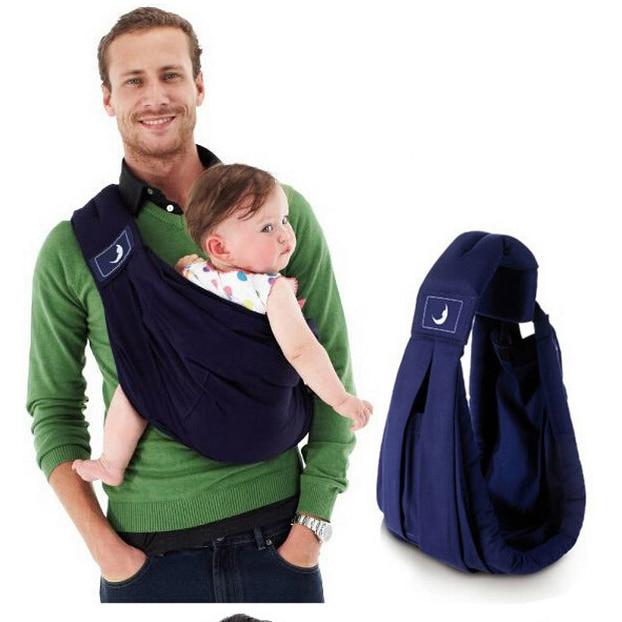 2018 BabaSling carrier Suspender cotton Breathable Infant Carrier  Adjustable Newborn wrap Sling Backpacks Sponge Baby Suspenders
