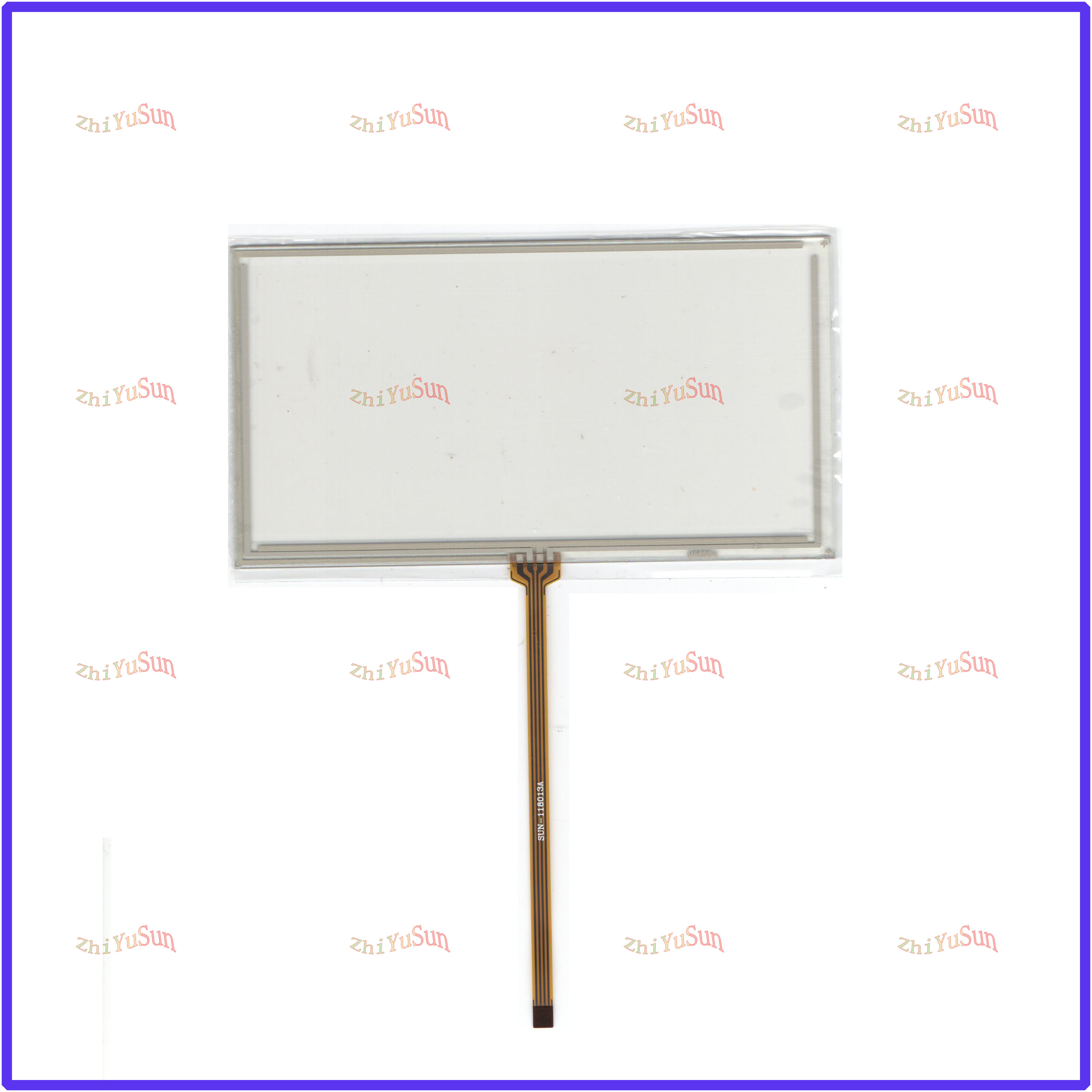 ZhiYuSun For JVC KW-V10  This Is Compatible 6inch 4 Line Touch Screen Panel Sensor Glass Compabible