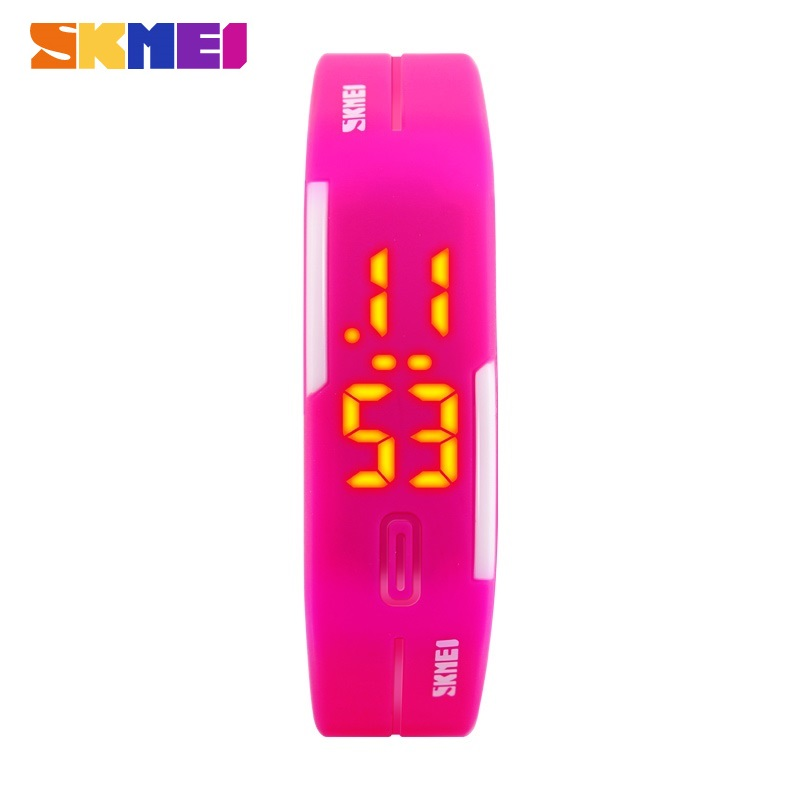 Skmei Brand Men And Women Sports Watches Fashion Swim Watch Casual Jelly Time Date Digital Wristwatch Dress Watches Relogio Fem