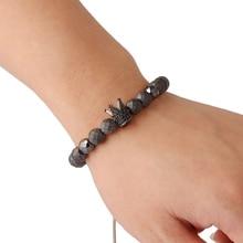 Natural Stone Beaded Men's Bracelet