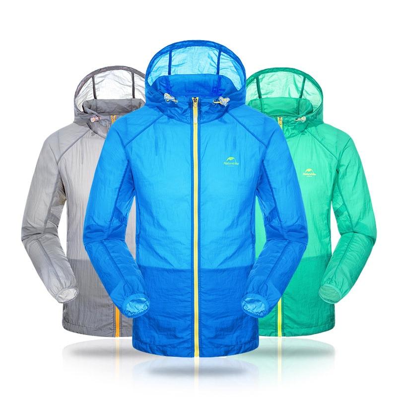 Naturehike hombres anti-uv abrigos windcoat cazadora deportes al aire libre para
