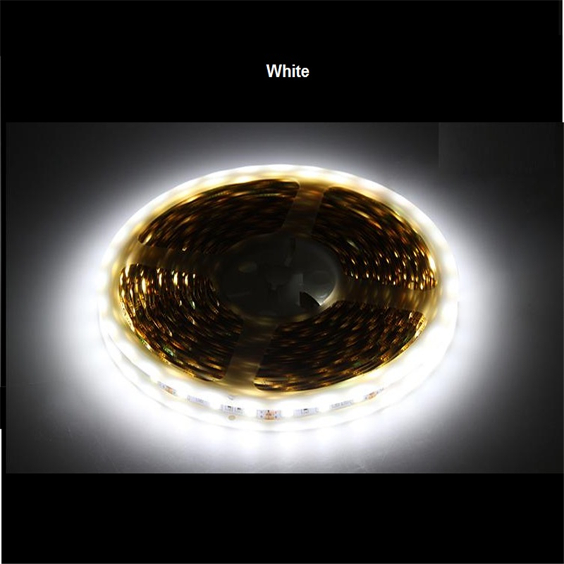 5m/roll Free shipping LED strip SMD5050 Epistar LED softstrip 24V DC White High Brightness IP20