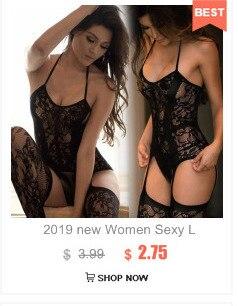 Сексуальное эротическое женское нижнее белье, большие размеры, прозрачное кружевное нижнее белье, Соблазнительные костюмы с тремя точками,... 14