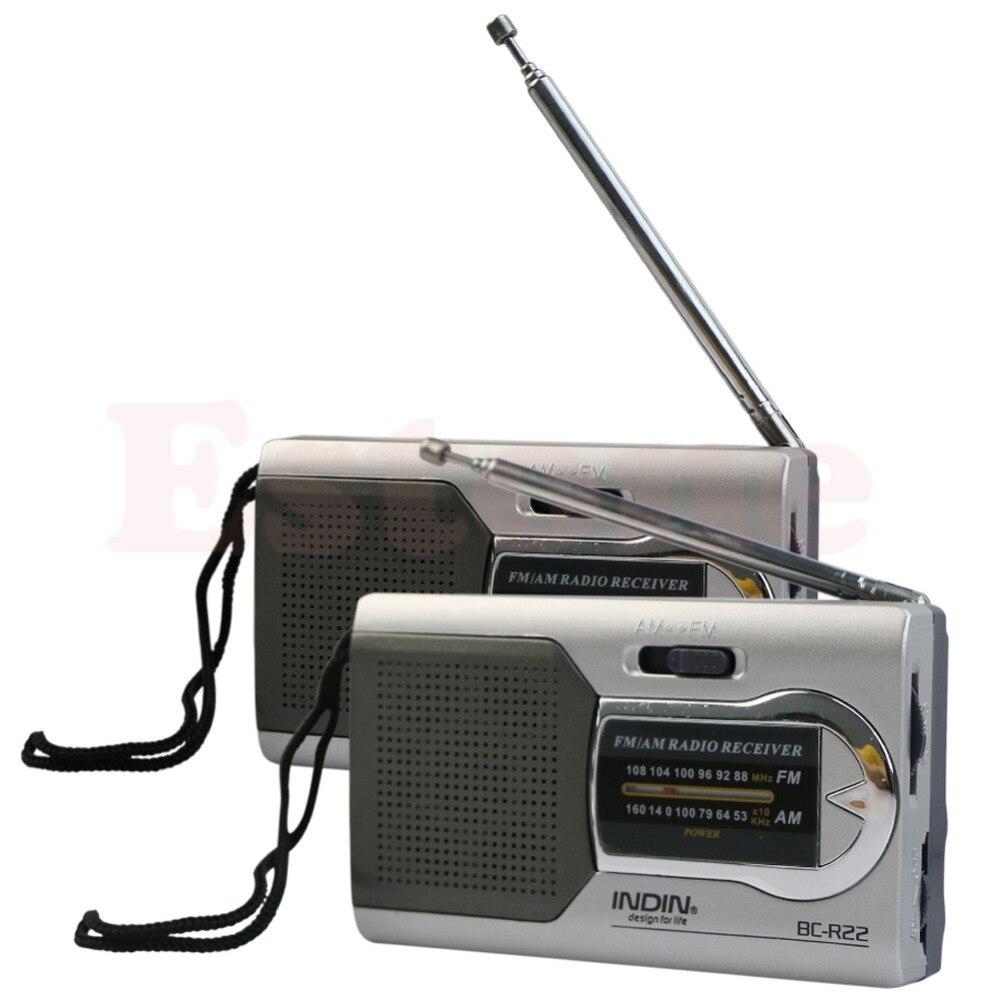 Tragbares Audio & Video Zielsetzung Ootdty Universelle Schlanke Am/fm Mini Radio Welt Empfänger Stereo Lautsprecher Mp3 Musik Player