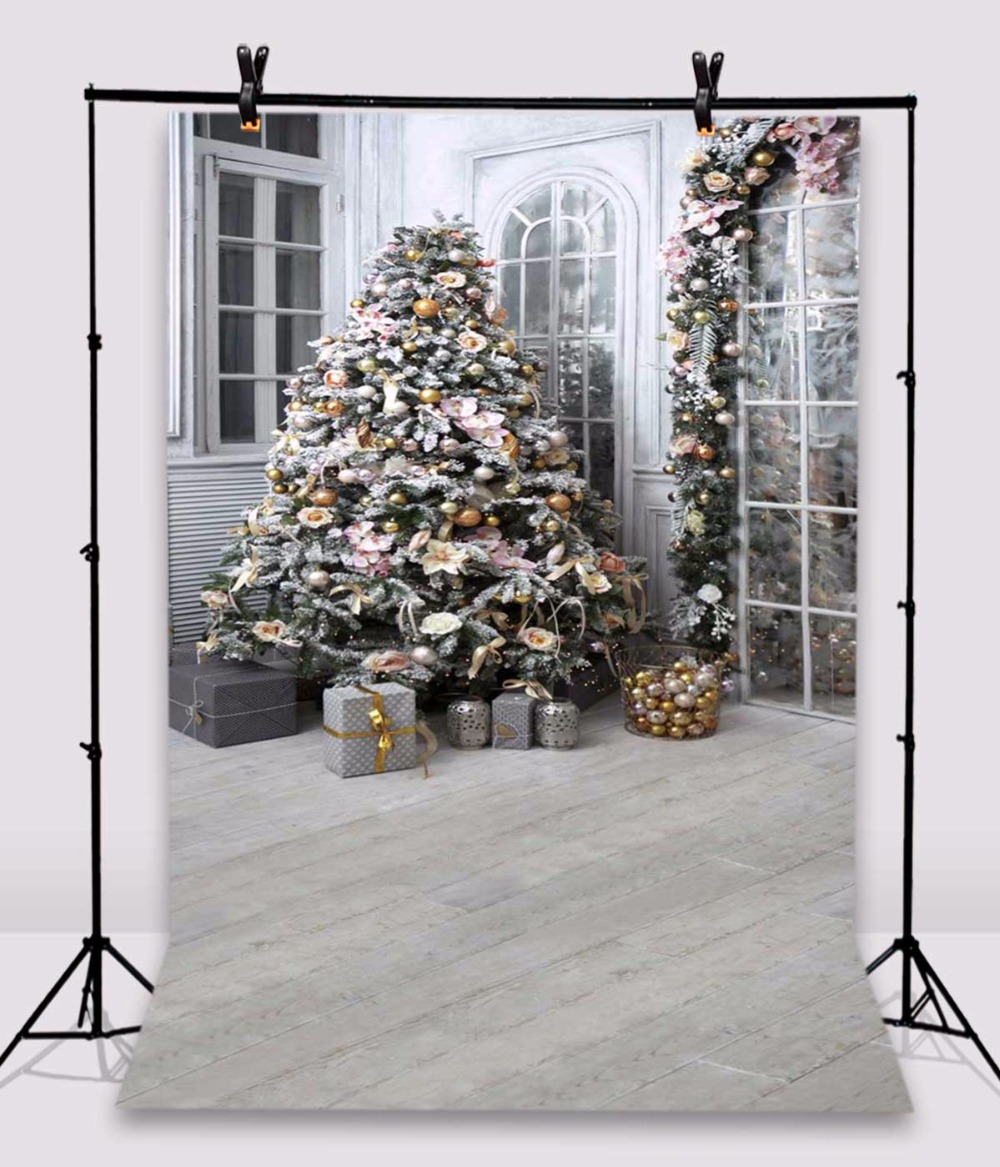 KIDNIU Christmas Tree Baby Photo Background Vinyl Studio Photography Window Backdrops 5x8ft or 6x10ft rr02 brick wall baby background photo studio props vinyl 5x7ft or 3x5ft children window photography backdrops jiegq154