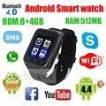 2016 Оригинальный Smartwatch S8 3 Г Телефон SIM Smart Watch Android Системы Dual Core 3-МЕГАПИКСЕЛЬНОЙ Камерой WCDMA GSM GPS TF Поддержка Wifi Bt 4.0