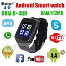 2016 Original Smartwatch S8 3G SIM Phone Smart Uhr Android System Dual Core 3MP Kamera WCDMA GSM GPS TF Unterstützung Wifi Bt 4,0