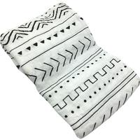 INS Hot Geometry 70 Bamboo Fiber 30 Cotton Baby Blanket Bedding Swaddle Wrap Gauze Muslin Blankets