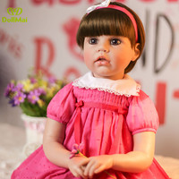 New Arrival 24'' 60 cm Soft Vinyl Reborn Alive Girl Dolls Real Looking Princess Doll Baby Toy For Sale Kid Birthday Xmas Gifts