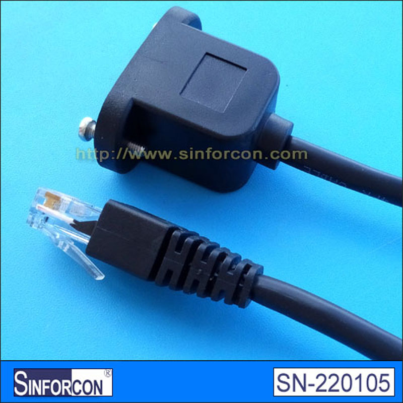 rj45 female socket to rj45 male gender changer ethernet extension ...