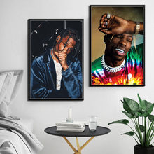 9366752ff1c8 P122 Travis Scott Music Star Rap Hip Hop Rapper Fashion Model Art Painting  Silk Canvas Poster