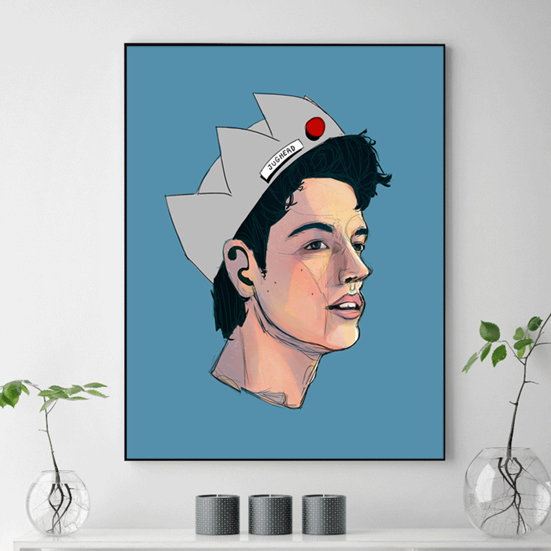 Riverdale Jughead Jones Comic Fan Minimalist Watercolor Art Canvas Poster Painting Wall Picture Print Home Bedroom Decoration Hd Painting Calligraphy Aliexpress Choose from 700+ cartoon crown graphic resources and download in the form of png, eps, ai or psd. aliexpress
