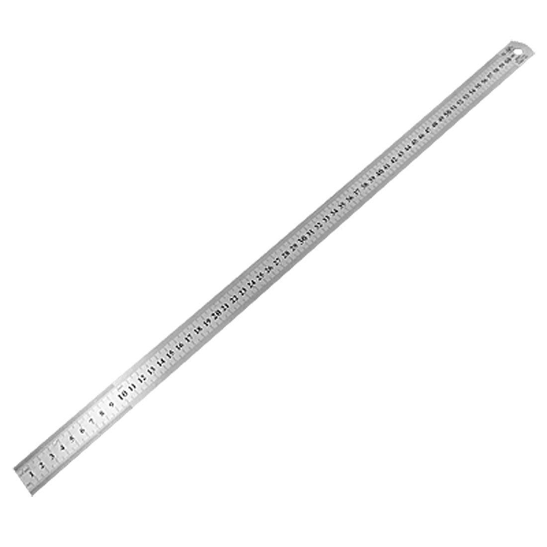 SOSW-60cm Stainless Metal Measuring Straight Ruler