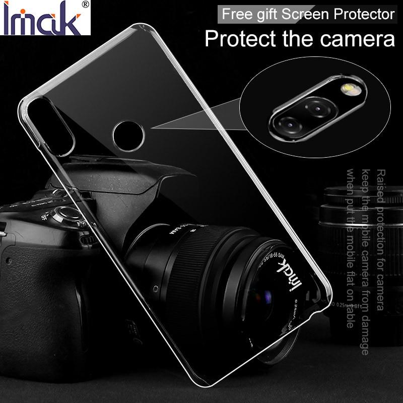 IMAK Kristall Fall II für ASUS Zenfone Max Pro M1 ZB601KL ZB602KL Transparent Langlebig PC Fall Klar Zurück Abdeckung