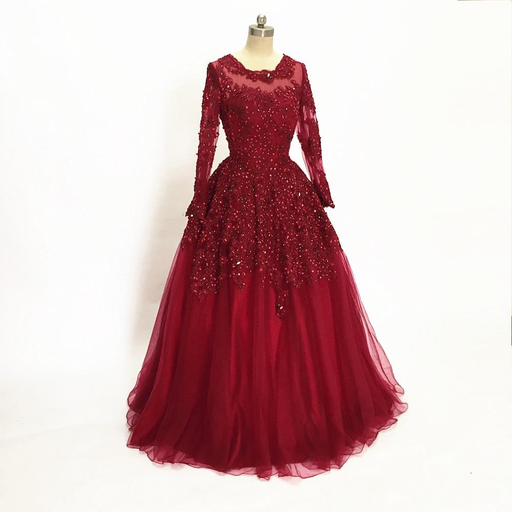 Bling Bling Red Evening Dresses Long Sweetheart Applique Beaded ...