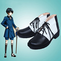 Anime Black Butler Kuroshitsuji 2 Ciel Phantomhive Cosplay Shoes Custom Made New