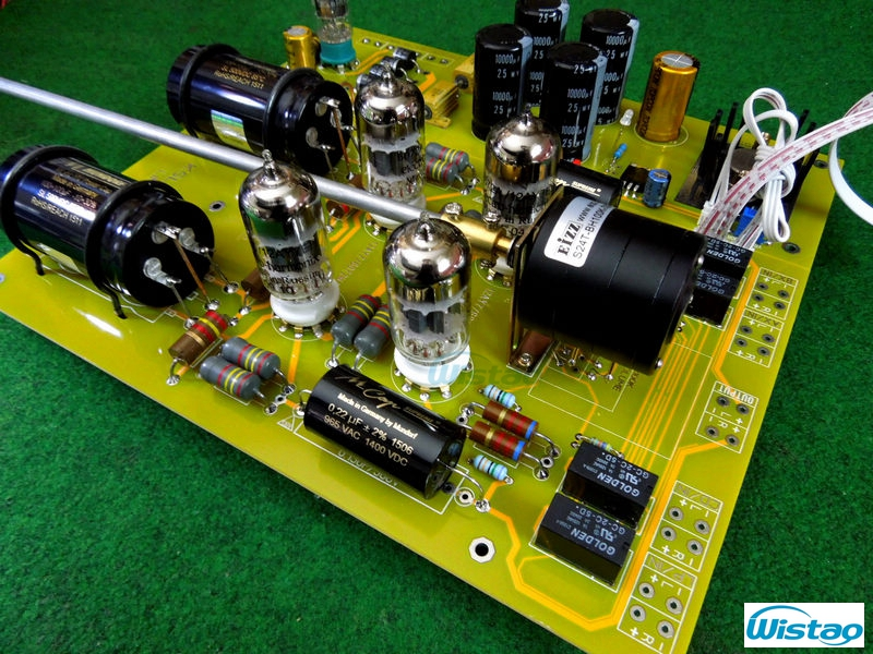 Tube Preamplifier Finished PCBA Luxury Version 6X4/EZ90 12AY7/6072WA  Excluding Tubes &Tansforemer The Best Sound HIFI Audio DIY