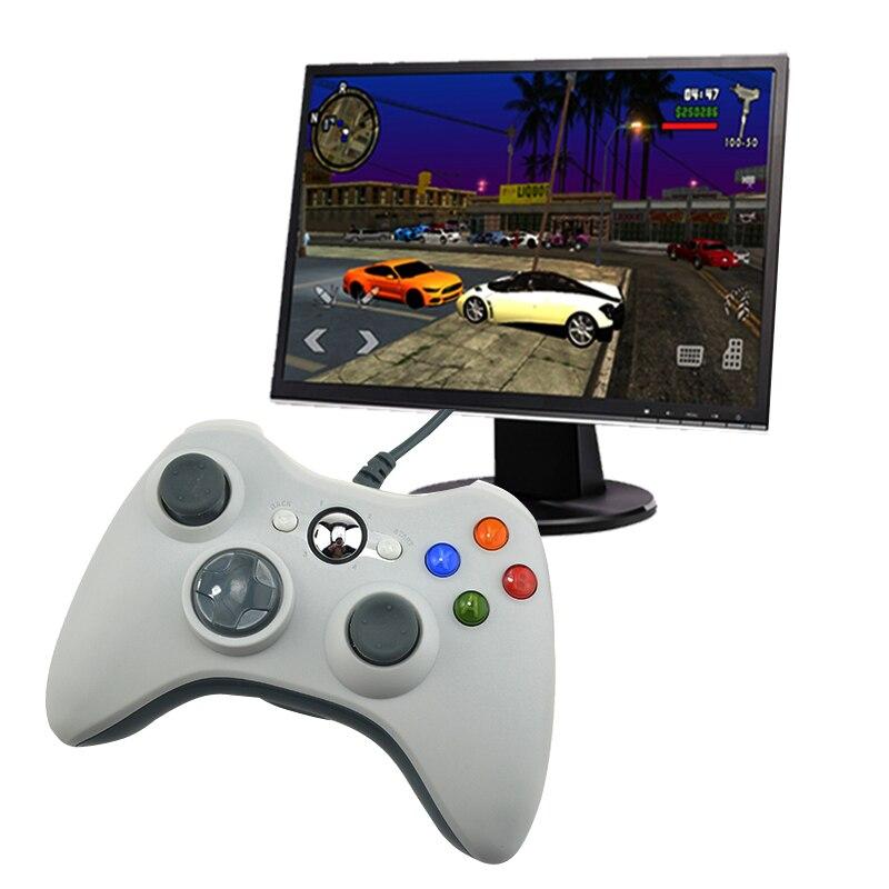 USB Wired Controller Joystick para PC Controle para ordenador Win7 Win8 Win10 no para xbox 360