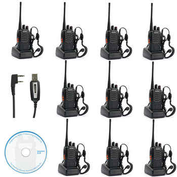10x Baofeng BF-888s UHF 400-470 MHz 5W CTCSS DCS Two-way Ham Radio Free Earpiece - DISCOUNT ITEM  5% OFF All Category