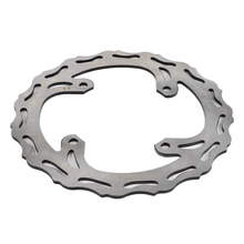 240mm Rear Brake Disc Rotor For Kawasaki KX125 KX250 2003-2008 KX250F KX450F 2006-2017 2018 KLX450R 08-2015 KX 125 KXF 250 450 outer diameter 250mm stainless steel front brake disc rotor for kawasaki kx125 kx250 06 08 kx250f kx450f 06 15 klx450r 07 14