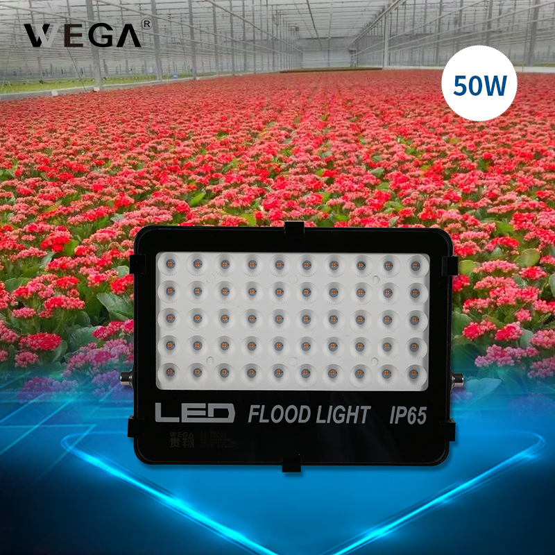 WEGA Full Spectrum LED Plant Growth Lamp Hand Switch Leaf Vegetable Greenhouse Indoor 100W Plant Growthing Lamp Fill-in Light