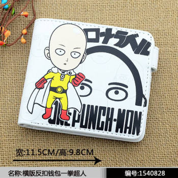 2016 anime One Punch-man Wallets Cute PU short purse 4 styles 1