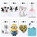 Minions Cat Mickey & Minnie Kiss Hard Case Cover For Samsung Galaxy S3 S4 S5 Mini S6 S7 Edge Note 2 3 4 5 A3 A5 A7 A8 J1 J5 J7