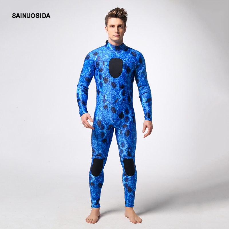 Hooded camouflage Wetsuit 3mm Man Diving suit  High Quality Neoprene Water Sports Snorkeling Scuba Diving  MY004 men s winter warm swimwear rashguard male camouflage one piece swimsuit 3mm neoprene wetsuit man snorkeling diving suit