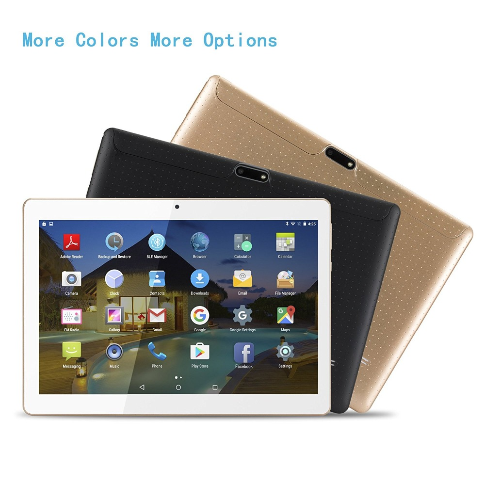 Newest 10.1 inch Android 7.0 tablets 4 Core 1280*800 IPS 2 GB RAM 32 GB ROM wifi GPS 3 G Mobile phone tablet office kid смартфон micromax canvas juice 4 q465 gold quad core 1 3 ghz 5 hd ips 1280 720 2 gb 16 gb 8mpx 5mpx 4g 3900mah 2 sim android 5 1