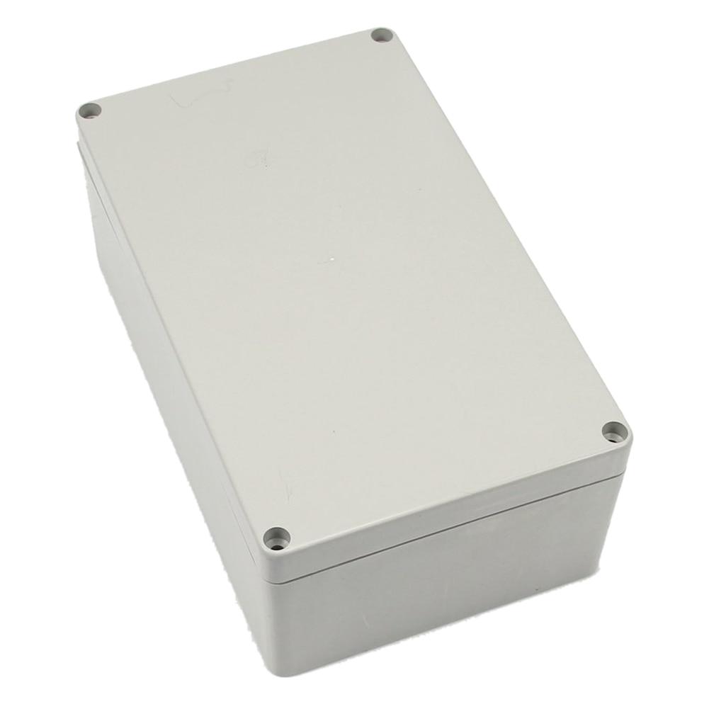 LHLL-Gris-blanc Étanche En Plastique Boîte de Projet Boîtier 200*120*75 MM