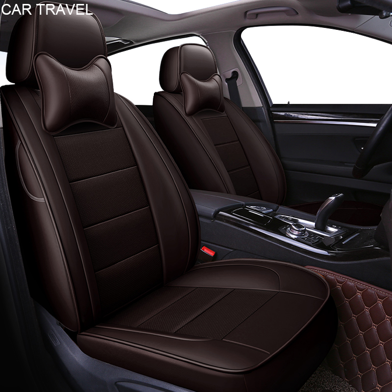 Genuine leather car seat cover For Skoda Octavia Fabia Superb Rapid Yeti Spaceback Joyste Jeti auto accessories car-styling