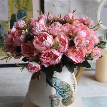 Hight Qualitat Seide Blume Europaischen 1 Bouquet Kunstliche