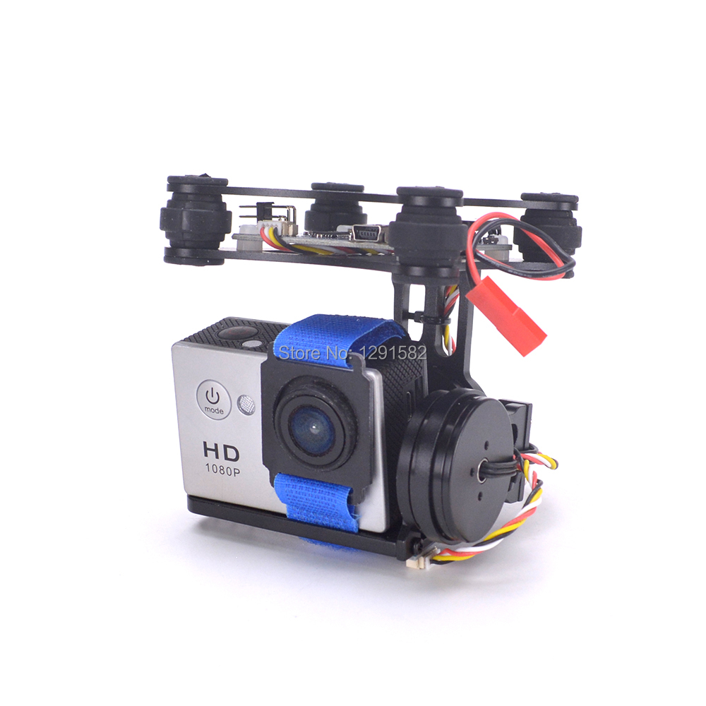 New Lightweight 2-Axis Brushless Gimbal Board with Sensor free debug for Gopro3 4 Gopro hero session Runcam 3s RC FPV QuadcopterNew Lightweight 2-Axis Brushless Gimbal Board with Sensor free debug for Gopro3 4 Gopro hero session Runcam 3s RC FPV Quadcopter