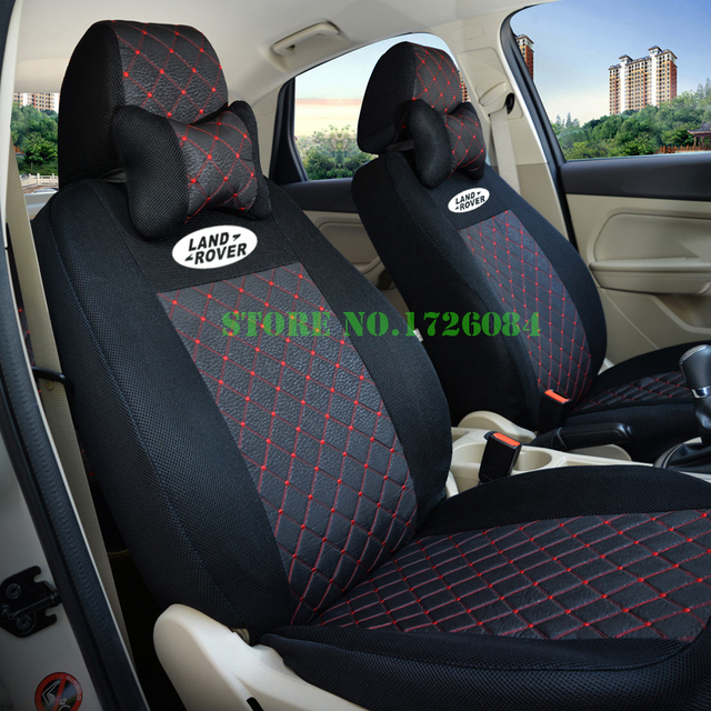 2 Front Seat Universal Car Cover For Range Rover Sport Discovery 4 Freelander