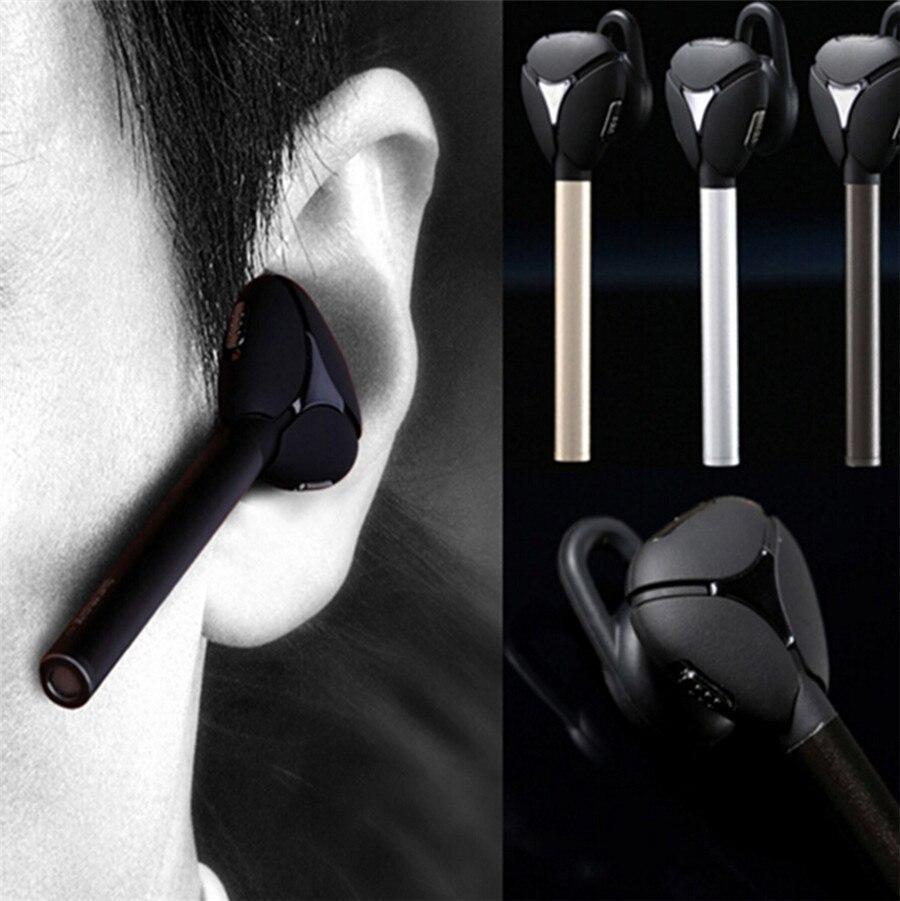 все цены на Remax RB-T3 Metal V4.1 Bluetooth Headset Smart Stereo Headphone Business Earphone Remote Shutter For Samsung Apple Nokia HTC FQ онлайн