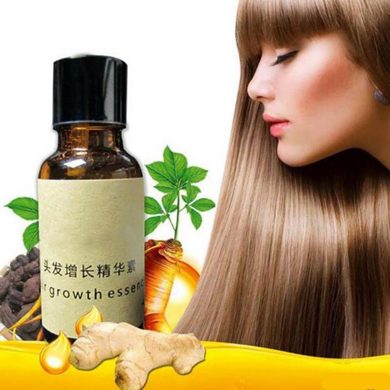 1 Bottle Hair Growth Essence Liquid Anti Hair Loss Dense Hair Care 20ML Liquid for Women Men Professional Care Hair Growth
