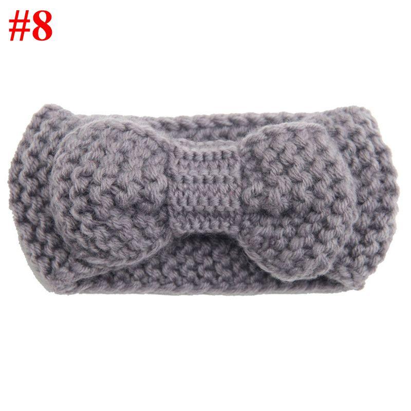 Naturalwell Cute Crochet Headbands Little Girls Hair Accessories Ear