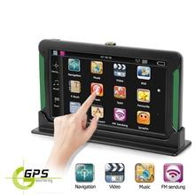 Автомобильный gps-навигатор 7 дюймов HD lcd емкостный экран автомобильный FM Navitel спутниковая навигация грузовик gps навигатор автомобильные аксессуары последние