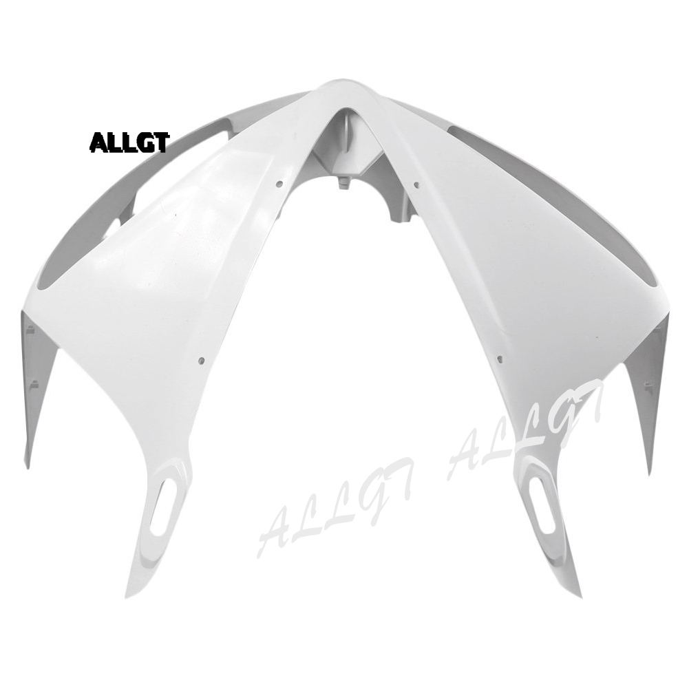ALLGT Motorcycle Injection Moulding Upper Front Cowl Nose Fairing Unpainted for YAMAHA YZF R6 2003 2004 2005 for yamaha 2003 2004 2005 yzf r6 unpainted motorcycle tail rear fairing abs plastic 03 04 05