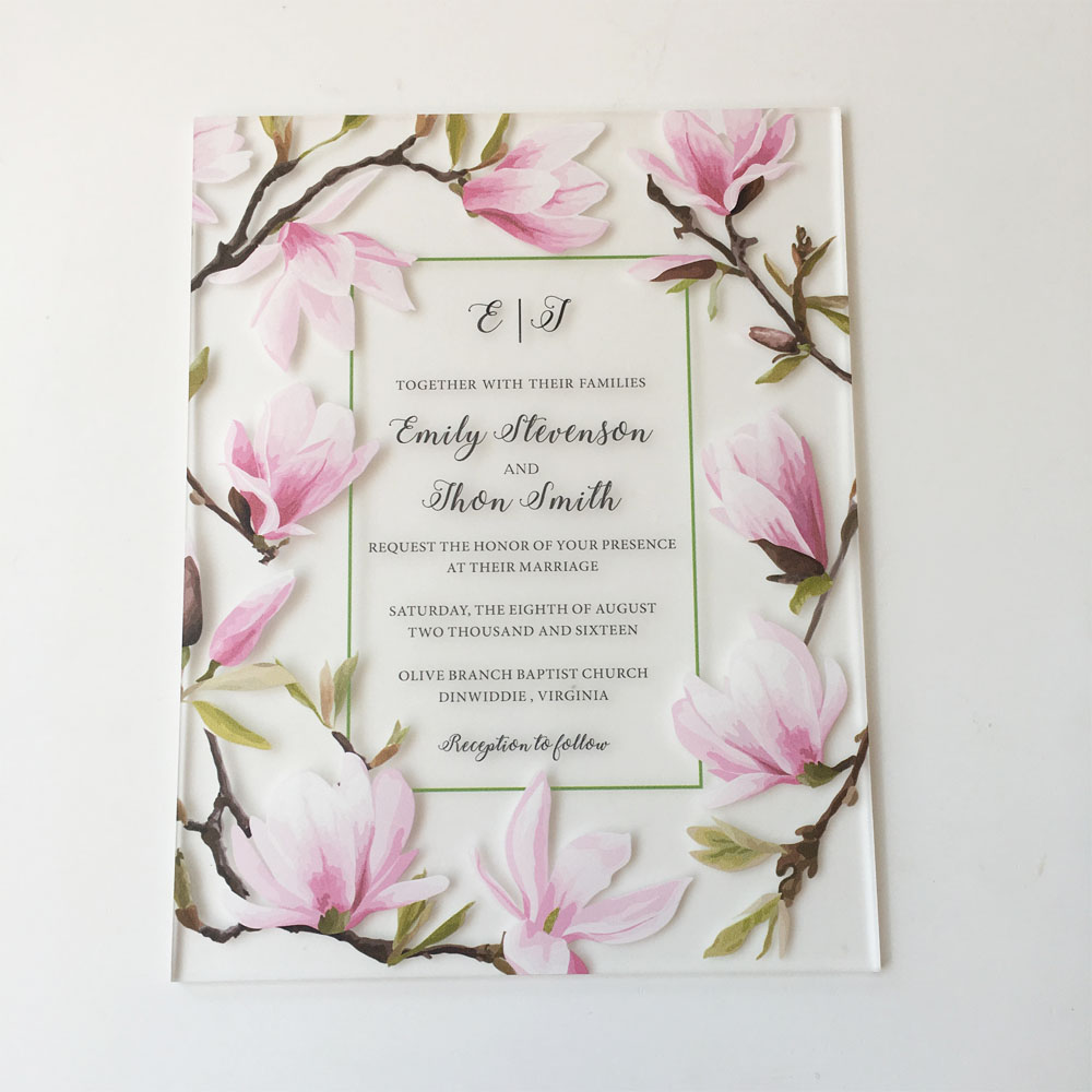 beautiful peach blossom water color style 128 165mm
