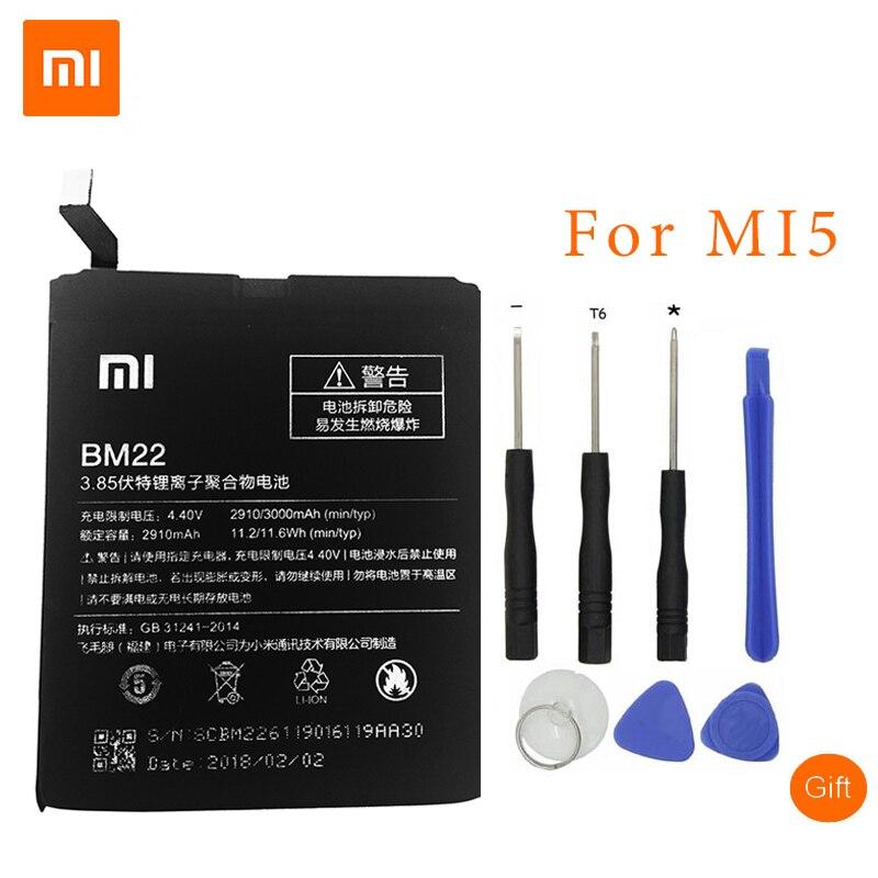 Free Shipping XiaoMi Original BM22 Mobile Phone Battery For Xiaomi mi5 Xiaomi M5 Replacement Battery 3000mAhFree Shipping XiaoMi Original BM22 Mobile Phone Battery For Xiaomi mi5 Xiaomi M5 Replacement Battery 3000mAh