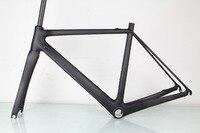 SERAPH Road Bike Carbon Frame Fork Compatible Di2 UD Matt BSA OEM Carbon Bicycle Frameset