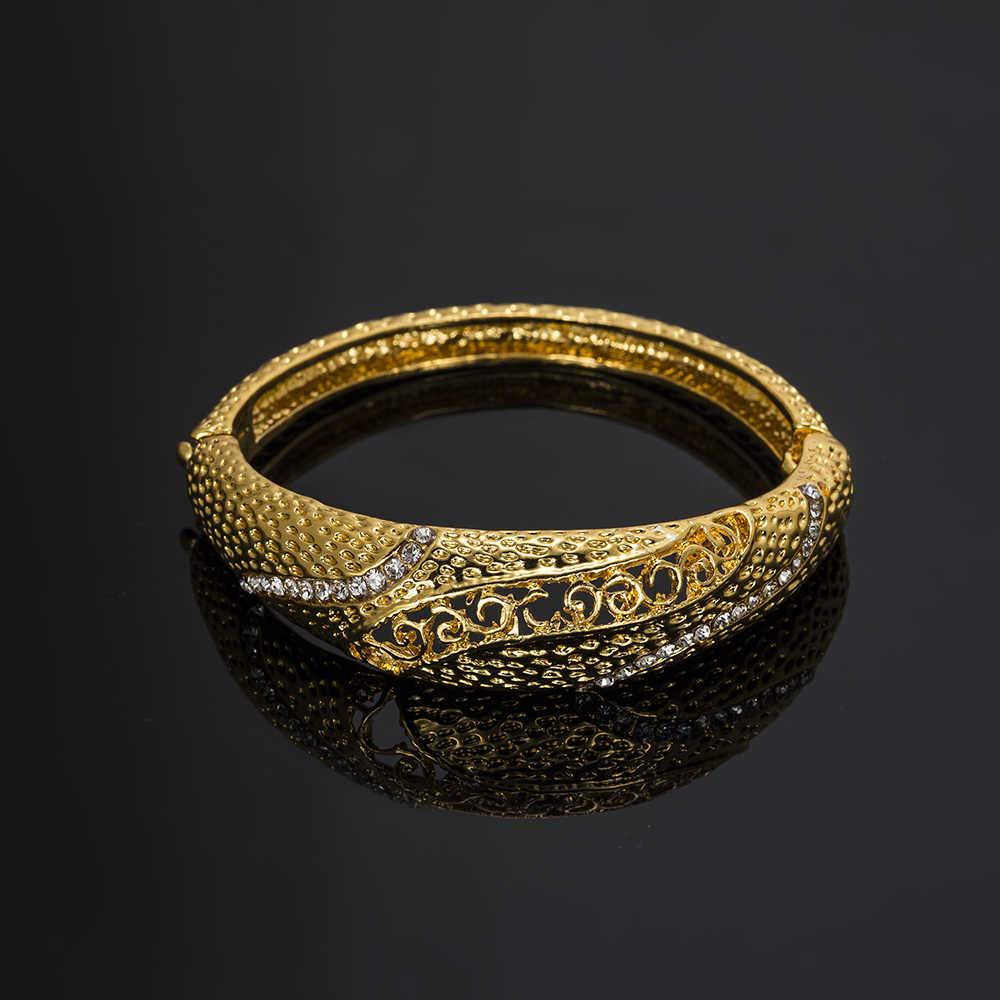 BAUS Exquisite Dubai schmuck sets luxus Goldene farbe indische schmuck großen Nigeria Afrikanischer schmuck großhandel schmuck Zubehör