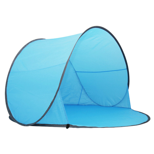 Outdoor c&ing hiking beach summer tent UV protection fully automatic sun shade quick open pop up  sc 1 st  AliExpress.com & Outdoor camping hiking beach summer tent UV protection fully ...