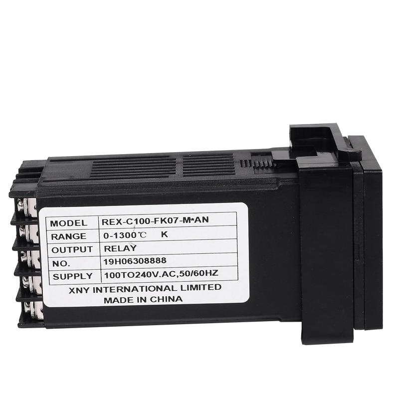48 * 48 mm-es digitális hőmérséklet-szabályozó termosztát K / - Mérőműszerek - Fénykép 4